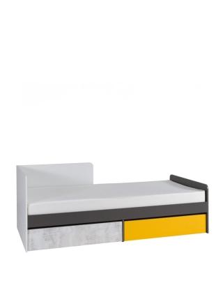 BRUNO - Bett mit matratze